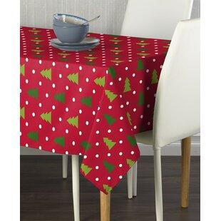 Endicott Christmas Trees Milliken Tablecloth