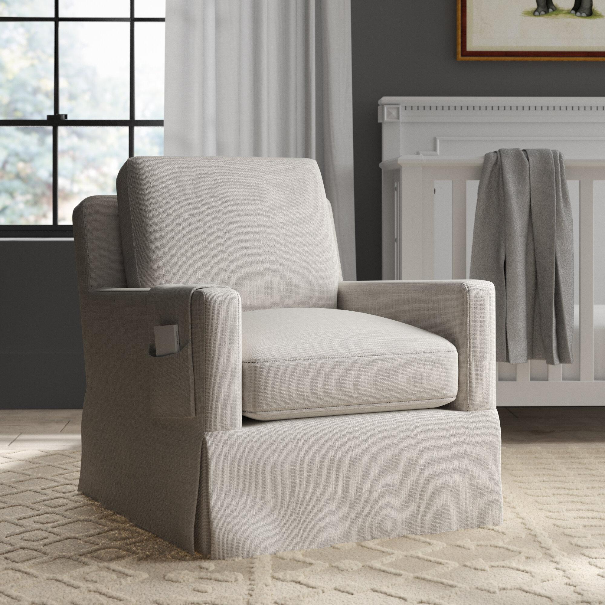Awe Inspiring Gwinnett Swivel Rocking Chair Lamtechconsult Wood Chair Design Ideas Lamtechconsultcom
