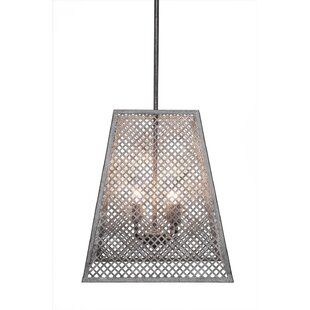 Giusto 4-Light Square/Rectangle Pendant by 17 Stories