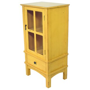 Romeo 1 Drawer Accent Cabinet by August Grove