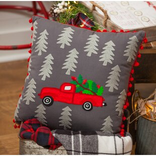 Bedelia Truck Throw Pillow