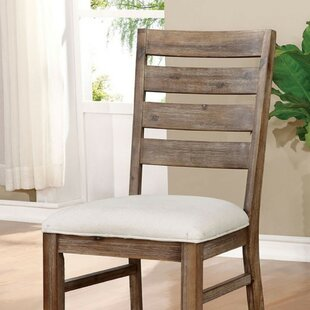 Carpenter Upholstered Dining Chair (Set of 2) Union Rustic