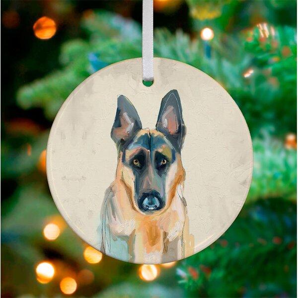 German Shepherd Ornament Wayfair