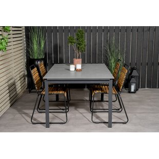 Akuji 4 Seater Dining Set By Sol 72 Outdoor