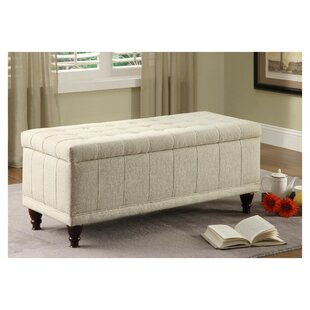 Burden Lift-up Upholstered Storage Bench