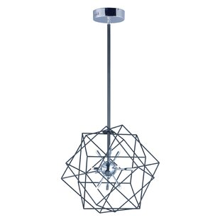 Hackmore 12-Light Geometric Chandelier by Ivy Bronx