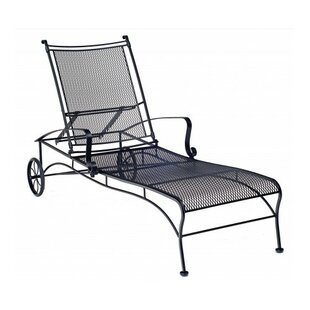 Woodard Bradford Reclining Chaise Lounge