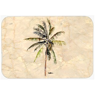Palm Tree Glass Cutting Board