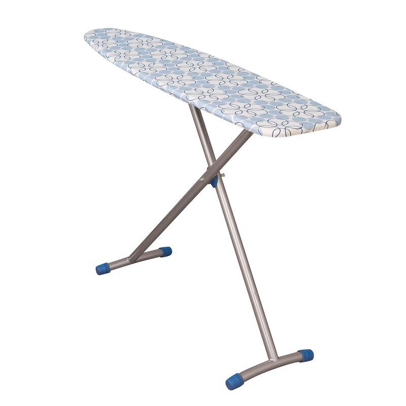Household Essentials Arch Leg Steel Top Freestanding Ironing Board Wayfair