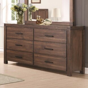 Darrian 6 Drawer Double Dresser by Brayden Studio