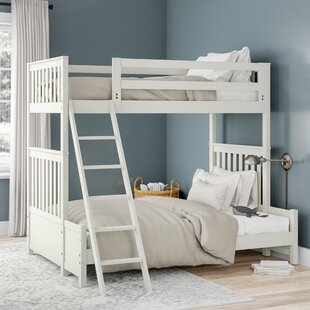 Shop For Maia Bunk Slat Bed with Twin over Full ByViv + Rae