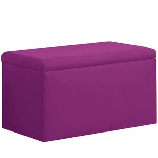 Latitude Run Shires Upholstered Storage Bench