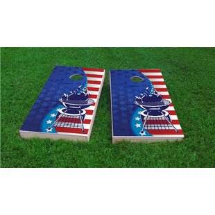 Custom Cornhole Boards BBQ Light Weight Cornhole Game Set