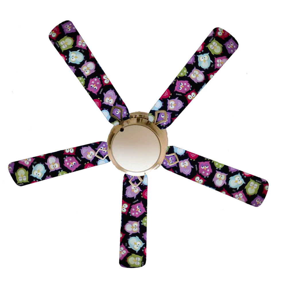 Zoomie Kids 52 Spratt 5 Blade Flush Mount Ceiling Fan With Pull Chain And Light Kit Included Wayfair