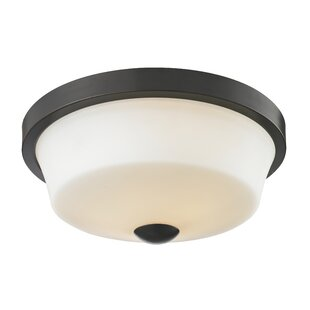 Brayden Studio Seeber 2-Light Flush Mount