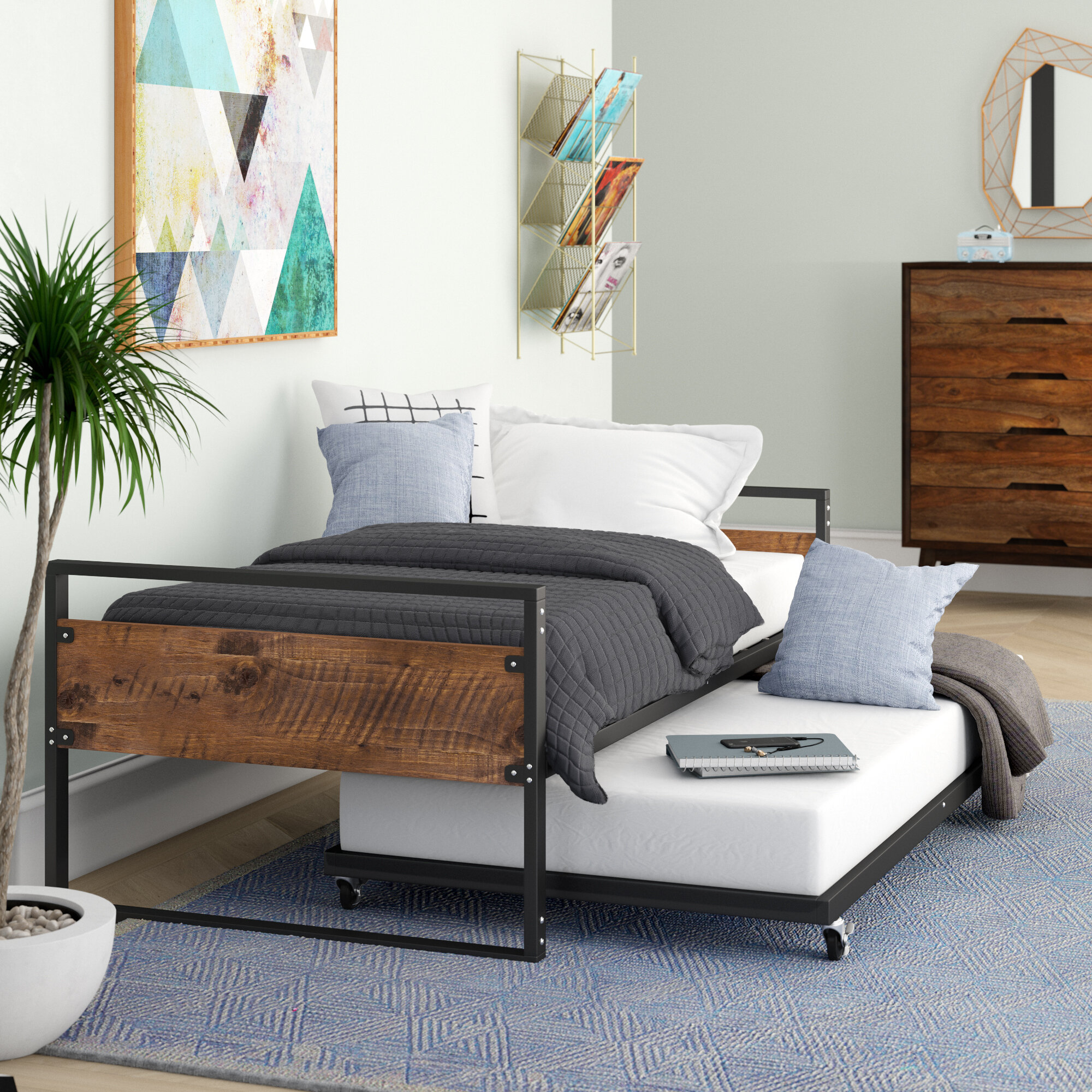 - Hallee Twin Daybed With Trundle & Reviews AllModern