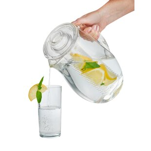 Corcoran Fruit Infusion Pitcher 2.7 L Jug By Symple Stuff