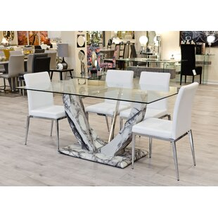 Up To 70% Off Eunice Dining Set With 6 Chairs