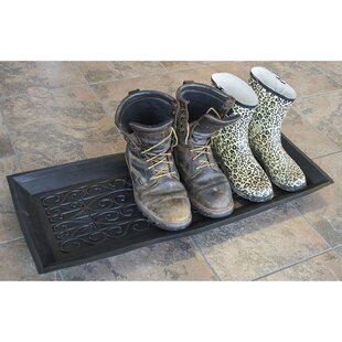 Affordable High Wall Sturdy Rubber Boot Tray ByWinston Porter