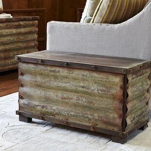 Trent Austin Design Carbondale Corrugated Coffee Table Trunk
