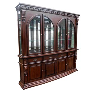 D-Art Collection Sheraton Lighted China Cabinet