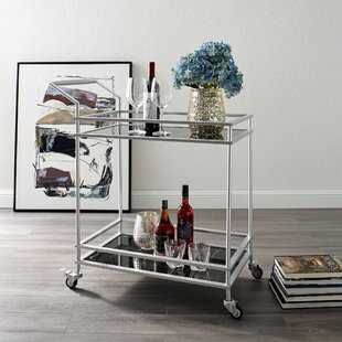 Tilly Serving Bar Cart by Nicole Miller