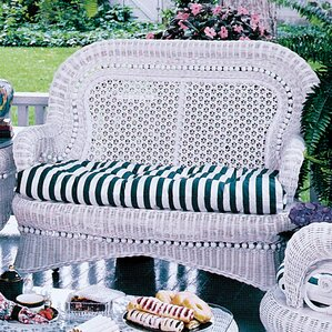 Country Loveseat by Spice Islands Wicker