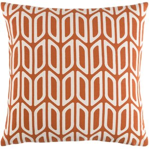 arsdale geometric cotton throw pillow cover