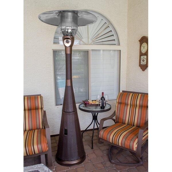 Superb AZ Patio Heaters Complete Wicker 41,000 BTU Propane Patio Heater U0026 Reviews  | Wayfair