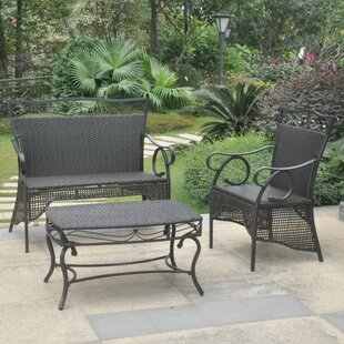 Stapleton 3-Piece Patio Dining Set