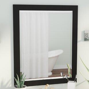 Brayden Studio Handcrafted Beveled Vanity Wall Mirror