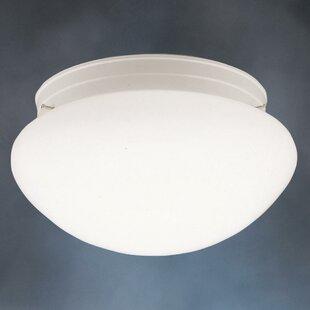 Ebern Designs Stevens 2-Light Flush Mount