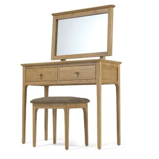 Brigance Dressing Table Set With Mirror By Ophelia & Co.