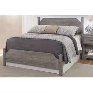 Buy clear Ciara Poster Panel Bed by Grovelane Teen Reviews (2019) & Buyer's Guide