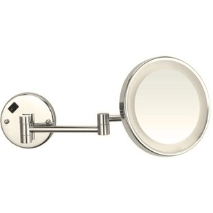 Wall Mounted LED Lighted Magnifying Makeup/Shaving Mirror by Glimmer by Nameeks