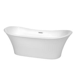 Bolera 71 x 32 Freestanding Soaking Bathtub