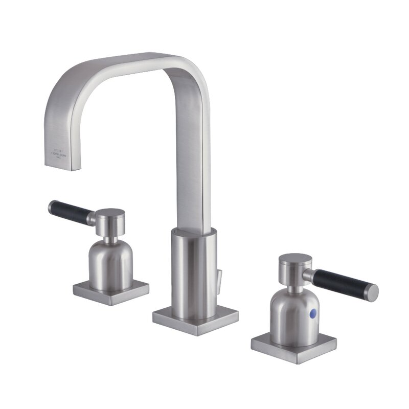 Kingston Brass Kaiser Widespread Bathroom Faucet With Drain Assembly Perigold