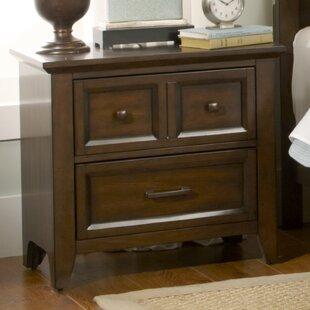 Mortemart 2 Drawer Nightstand by August Grove