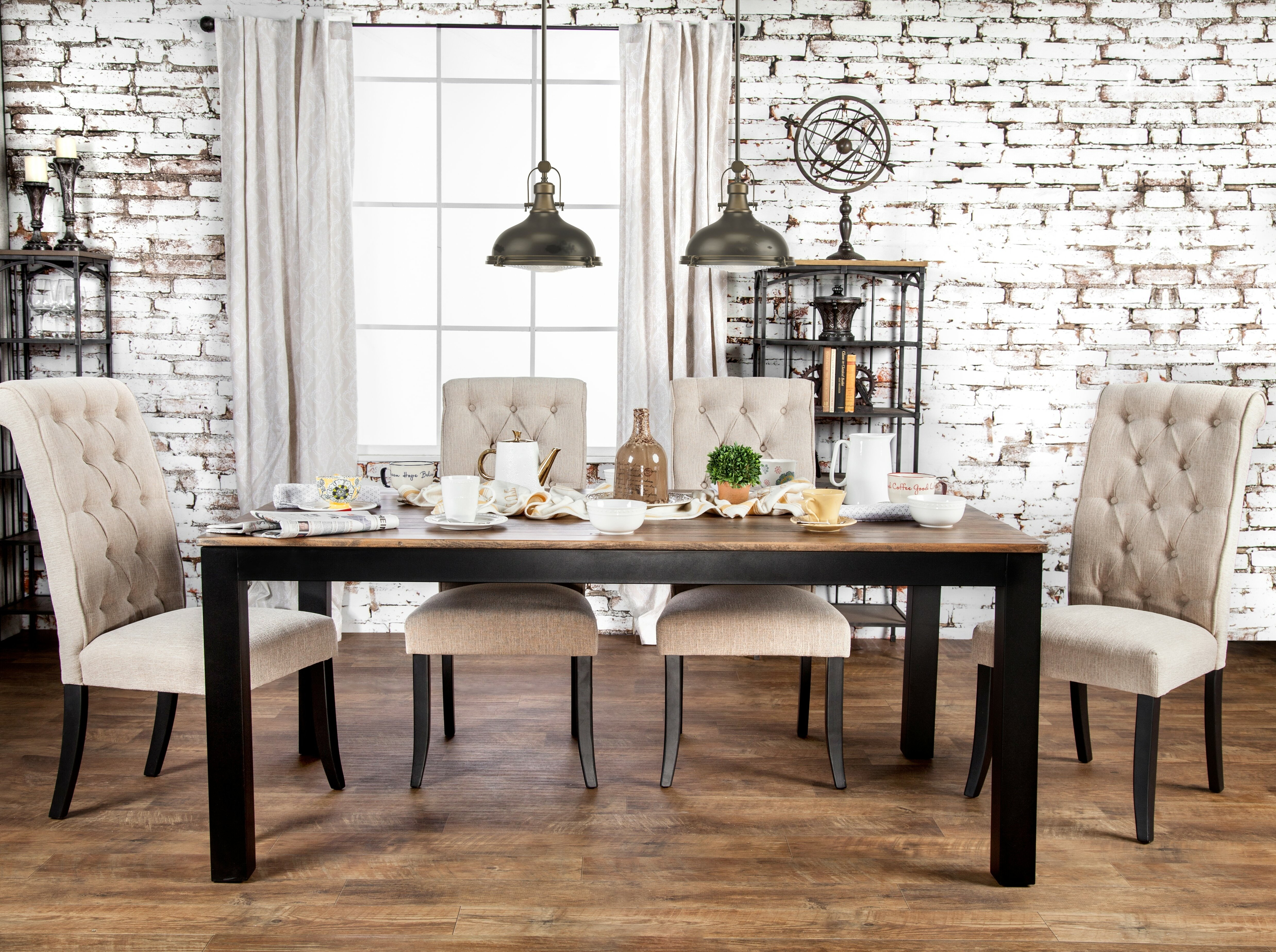 eb55c65a2a9b Laurel Foundry Modern Farmhouse Artemps Dining Table   Reviews ...