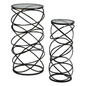 Spira 2 Piece Nesting Tables by Cyan Design