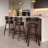 Rinker Swivel Bar & Counter Stool by Williston Forge