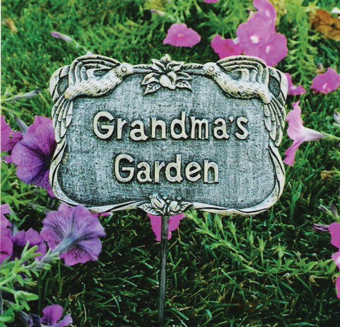 Grandmau0027s Garden Stake