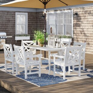 Delaplaine 7 Piece Dining Set By Sol 72 Outdoor
