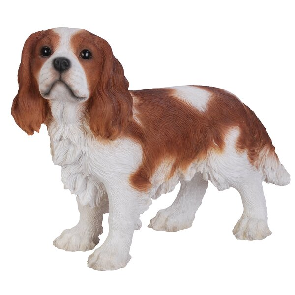 Cavalier King Charles Spaniel Dog Wine Bottle Stopper Hand Painted Blenheim