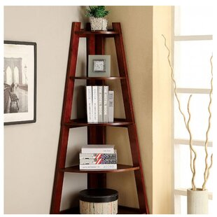 Herrod Corner Unit Bookcase by Ebern Designs