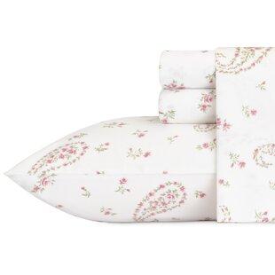 Bristol 300 Thread Count Paisley 100% Cotton Sheet Set by Laura Ashley