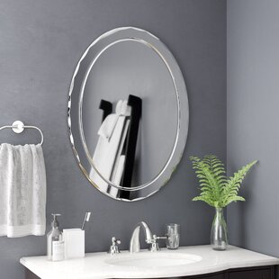Wade Logan Frameless Wall Mirror