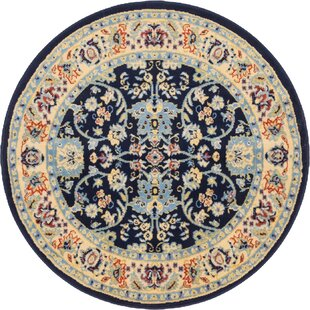 Essehoul Navy Blue Area Rug by World Menagerie