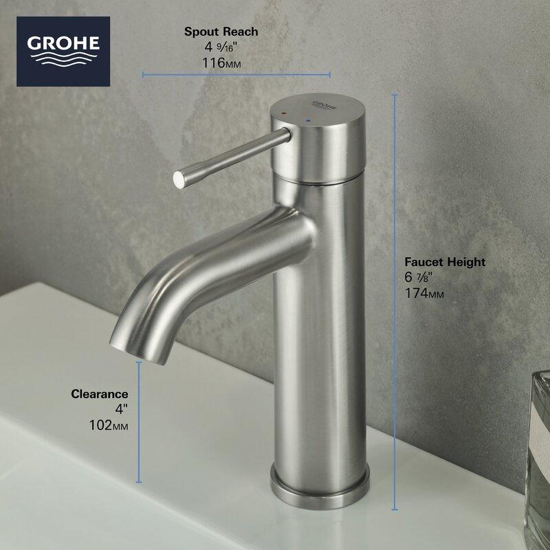 Grohe Essence Single Hole Bathroom Sink