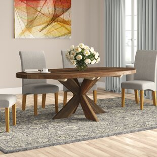Delrio Cross Dining Table By Union Rustic